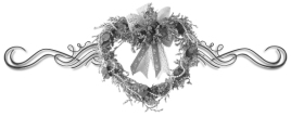heart wreath bar